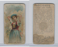 N80 Duke, Holidays, 1890, Harvest Home - Austria