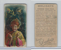 N80 Duke, Holidays, 1890, Chinese New Year