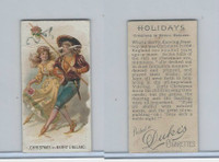 N80 Duke, Holidays, 1890, Christmas - England