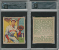 1934 Diamond Stars Baseball, #48 Rick Ferrell HOF, Red Sox, GAI 8 NMMT