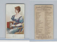 N82 Duke, Musical Instruments, 1888, Accordion