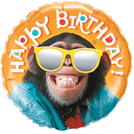 Smiling Chimp Birthday