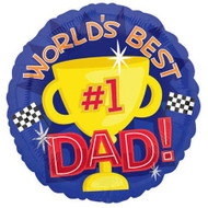 #1 Dad Happy Fathers Day