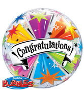Congratulations Banner Bubble