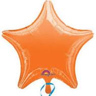 Orange Foil Star