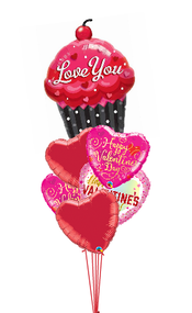 Love You Cupcake Bouquet