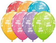 Birthday A Round Pastel Assorted