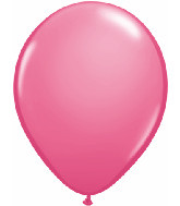 "11"" Rose Pink Helium Filled w/ Hi Float"