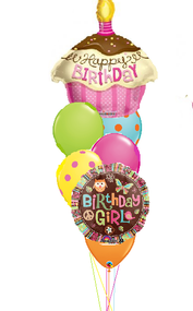 Happy Birthday Cupcake Bouquet