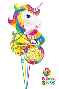 Unicorn Get Well Bouquet