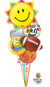 Get Well Sport Bouquet