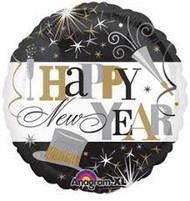 Happy New Year Elegant Celebration
