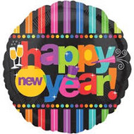 Happy New Year Colorful