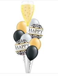 Happy Anniversary  Damask Bouquet