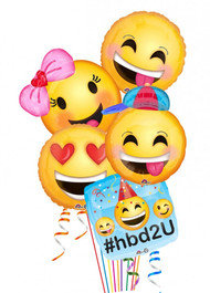 Emoji Birthday Bouquet