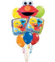Elmo birthday Bouquet