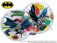Batman Battle Over Gotham Bubble
