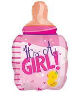 It's A Girl Baby Bottle