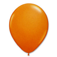 "11"" Orange Helium Filled Latex w/ Hi Float"