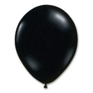 "11"" Black Helium Filled w/ Hi Float"