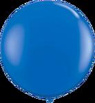 "36"" Blue Helium filled Latex balloon w/ Hi Float"