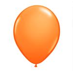 16 in Orange Helium filled latex w/ Hi float