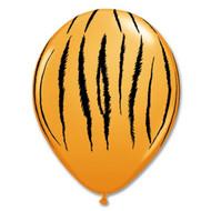 "11"" Tiger Print Latex"