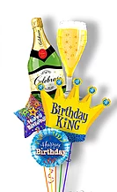 Bubbly Birthday King Bouquet