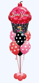 I Love You Cupcake Bouquet II