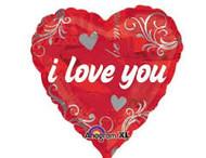 I love You Foil