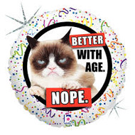Grumpy Cat Better with Age