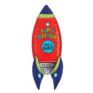 Blasting Birthday Rocket - Jumbo