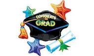 Congrats Grad Cap - Jumbo