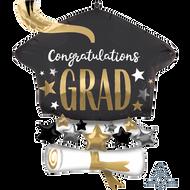 Congrats Grad Cap & Diploma