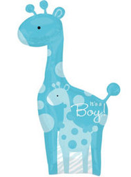Baby Boy Blue Giraffe