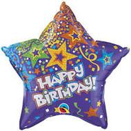 Purple Birthday Star