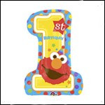 Elmo Number One First Birthday