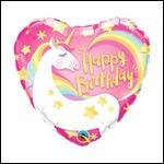 Birthday Unicorn Heart