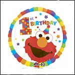 Elmo First Birthday