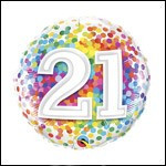 Rainbow Confetti 21St