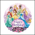 Disney Princesses Singing Balloon
