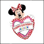 Minnie Heart Personalized
