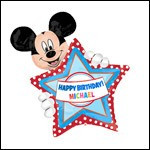 Mickey Star Personalized