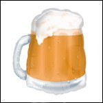 Beer Mug Transparent - Jumbo