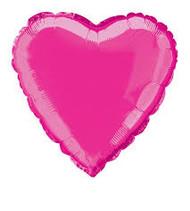Hot Pink Foil Heart