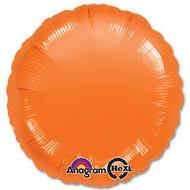 Orange Foil Circle