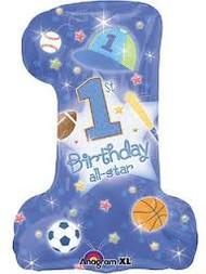 All Star 1st Birthday