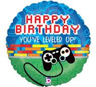 Happy Birthday You've leveled up