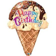 Ice Cream Cone Jumbo Birthday