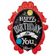 Happy Birthday to You Chalkboard - Jumbo